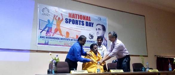 U TOO CAN CLUB Celebrated National Sports Day on 29-08-2017